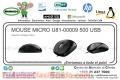 MOUSE MICRO U81-00009 500 USB