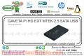 GAVETA P/ HD EXT MTEK 2.5 SATA USB