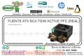 FUENTE ATX BCA 750W ACTIVE PFC (REAL)