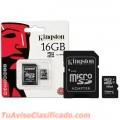 MEMORIA CON ADAPTADOR 16GB MICRO 2X1