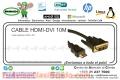 CABLE HDMI-DVI 10M