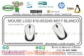 MOUSE LOGI 910-003245 M317 BLANCO
