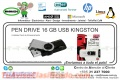 PEN DRIVE 16 GB USB KINGSTON