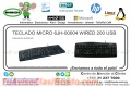 TECLADO MICRO 6JH-00004 WIRED 200 USB