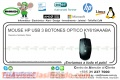MOUSE HP USB 3 BOTONES OPTICO KY619AAABA