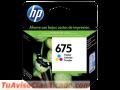 TINTA HP CN691AL (675) COLOR