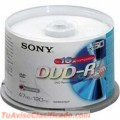 DVD-R VIRGEN TUBO 4.7GB
