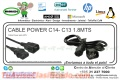 CABLE POWER C14- C13 1.8MTS