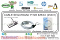 CABLE SEGURIDAD P/ NB IMEXX (25301)