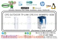 CPE OUTDOOR TP-LINK CPE-510 300MBPS 13DBI