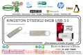 KINGSTON DTSE9G2 64GB USB 3.0