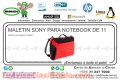 MALETIN SONY PARA NOTEBOOK DE 11