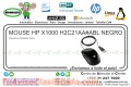 MOUSE HP X1000 H2C21AA#ABL NEGRO