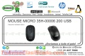 MOUSE MICRO 35H-00006 200 USB