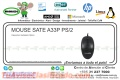 MOUSE SATE A33P PS/2