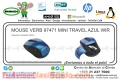 MOUSE VERB 97471 MINI TRAVEL AZUL WIR
