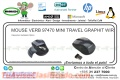 MOUSE VERB 97470 MINI TRAVEL GRAPHIT WIR