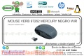 MOUSE VERB 97262 MERCURY NEGRO WIR
