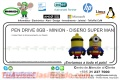 PEN DRIVE 8GB - MINION - DISEÑO SUPER MAN