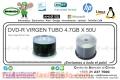 DVD-R VIRGEN TUBO 4.7GB X 50U