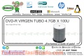 DVD-R VIRGEN TUBO 4.7GB X 100U