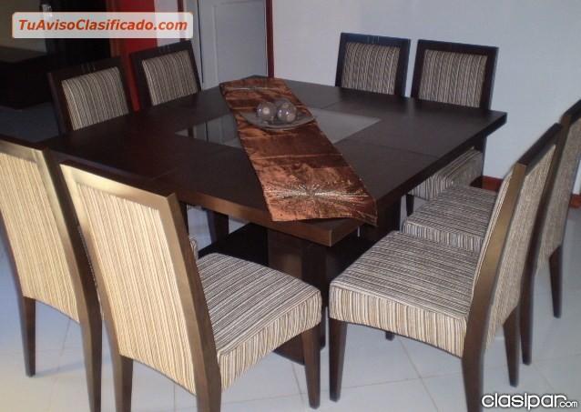Juego de comedor mobiliario y equipamiento comedor for Juego de comedor lima