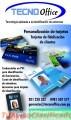 Personalización de tarjetas. Credenciales en PVC